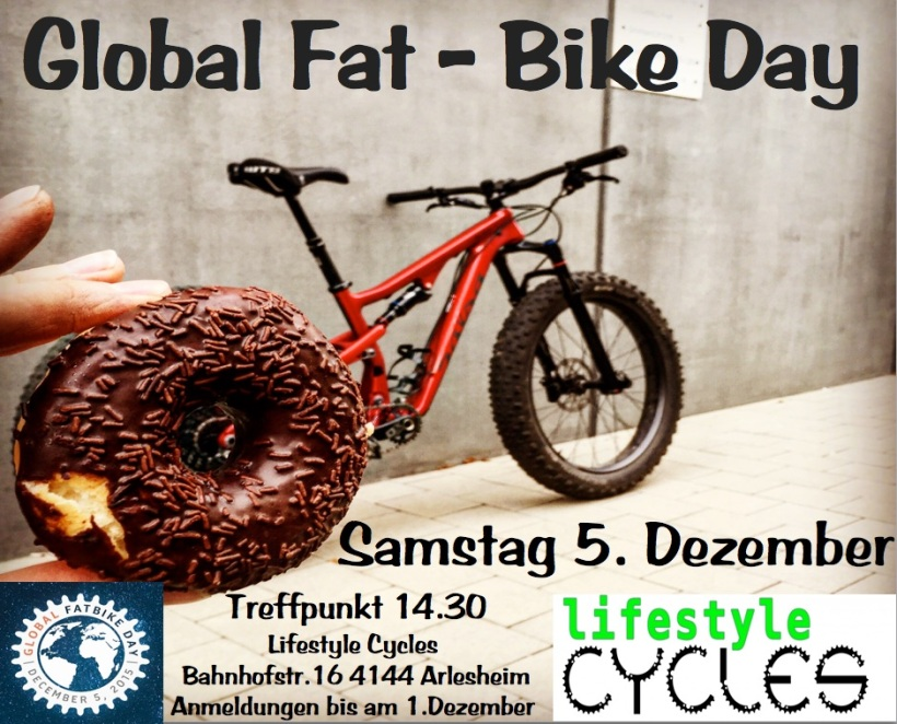 Fat Bike Day 2015 Lifestyle Cycles Schweiz Arlesheim Kopie