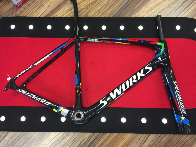 Specialized S-Works Tarmac Sagan Limited 2016 Schweiz