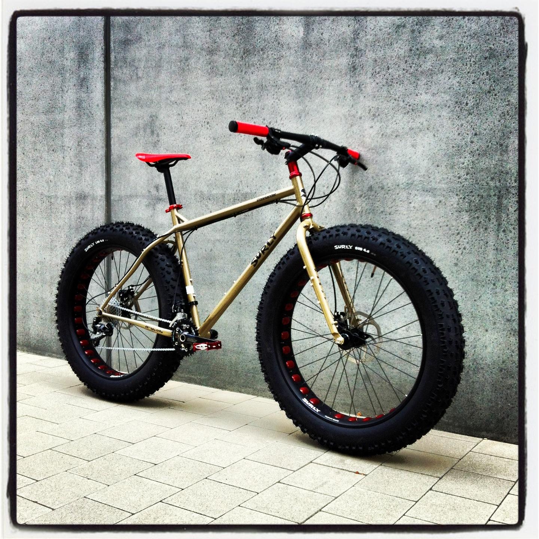 Surly Moonlander 2014 Lifestyle cycles Custom – Lifestyle ...