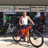 Specialized levo 29 HT Orange